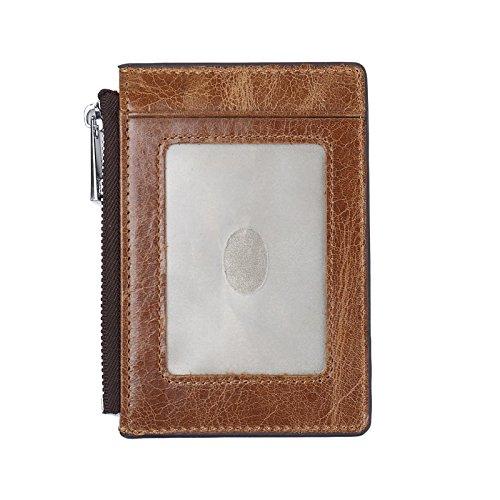 Genuine Leather RFID Blocking Credit Card Holder ,RFID Blocking Credit Card Protector Sleeve
