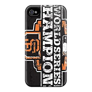 Tpu Eriklcoeman Shockproof Scratcheproof San Francisco Giants Hard Case Cover For Iphone 4/4s