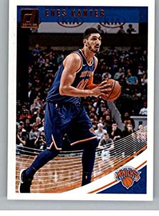 125ea402d10 2018-19 Donruss #97 Enes Kanter New York Knicks Basketball Card
