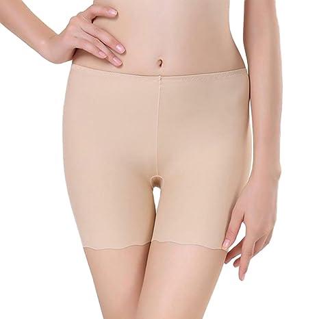 Vin beauty Tamaños libres Mujer Ropa interior elástica Leggings ajustados sin costura Pantalones cortos de seguridad: Amazon.es: Ropa y accesorios