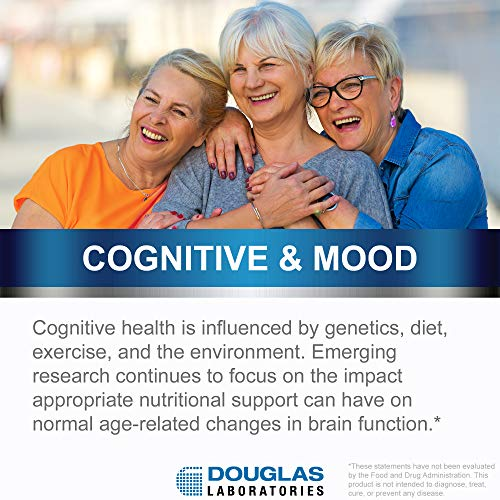 Douglas Laboratories - Brain Memory - Combination of Nutrients Designed to Help Keep The Mind Sharp* - 60 Capsules