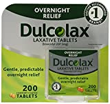 Dulcolax Laxative - 5 mg , 3Pack (200 Count Each) Zxcmgf