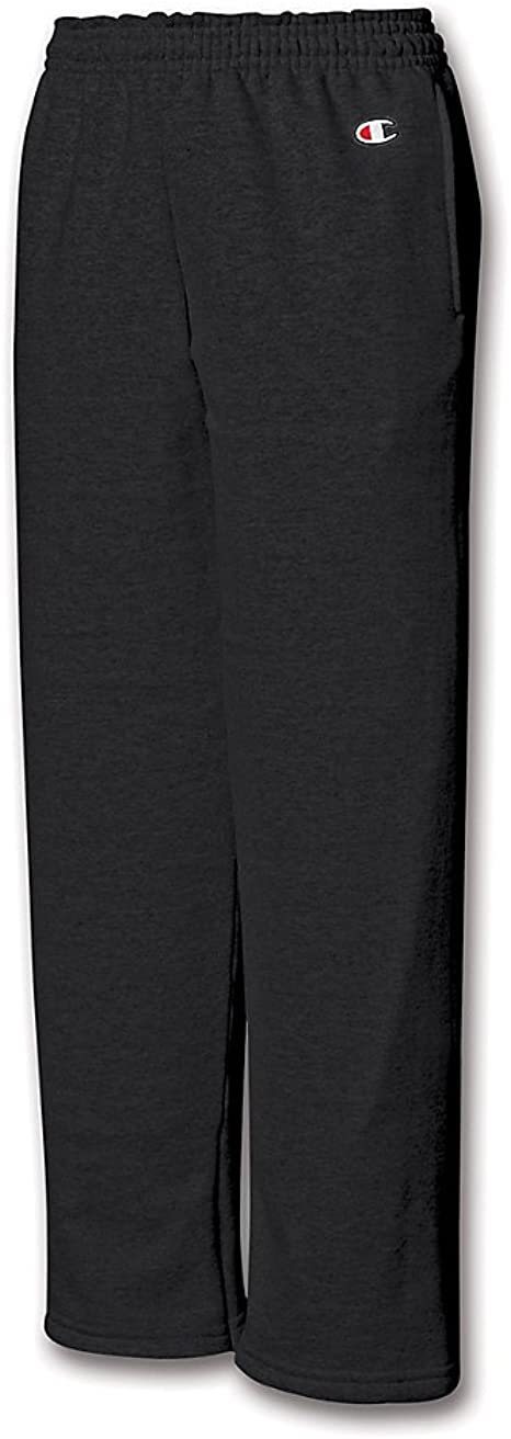 Champion Double Dry Youth Action Fleece Open Bottom Pant