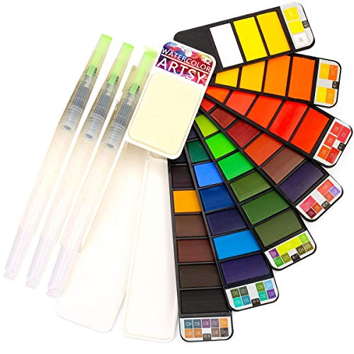 Artsy Watercolor Paint Set Assorted product image