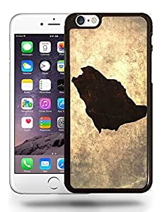 Saudi Arabia National Vintage Country Landscape Atlas Map Phone Case Cover Designs for iPhone 6
