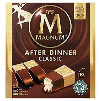Magnum After Dinner Classic Helado sin gluten - 35 ml x 10 ...