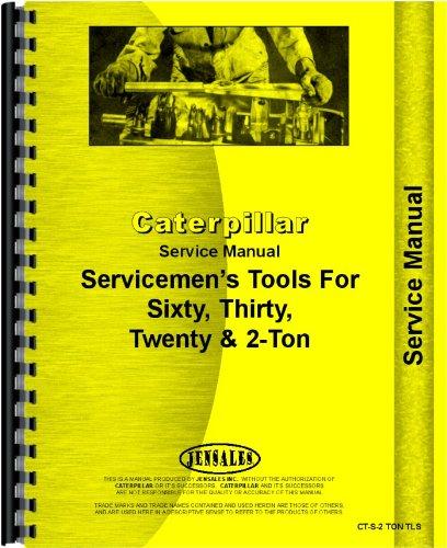 Caterpillar 60 Crawler Tools Service Manual (All SN#s) pdf epub