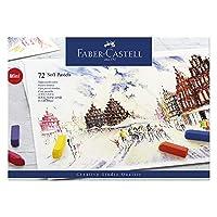 Faber-Castel FC128272 Creative Studio Crayones en colores pastel suaves (paquete de 72), surtidos