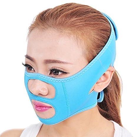 Surker Soins du visage Visage Minceur Chin Cheek Masque Lift V Face Line Ceinture Strap Visage Slim Mask Ltd