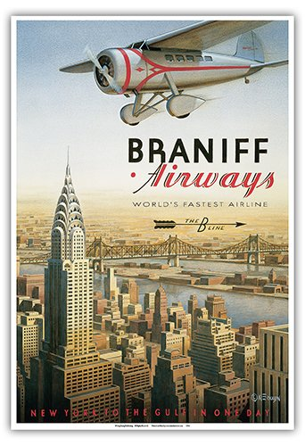 new-york-braniff-airways-the-b-line-worlds-fastest-airline-chrysler-building-vintage-style-airline-t