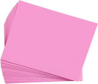 product image for Construction Paper, Pink, 9 inches x 12 inches, 50 Sheets, Heavyweight Construction Paper, Crafts, Art, Kids Art, Painting, Coloring, Drawing Paper, Art Project, All Purpose (Item # 9CPPI)