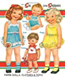 Six Little Steppers Paper Dolls