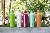 Corkcicle Canteen - Water Bottle and Thermos - Keeps Beverages Cold for Over 25, Hot for Over 12 Hours - Triple Insulated with Shatterproof Stainless Steel Construction - Silver - 25 oz.