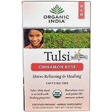 Organic India , Tulsi Tea Cinnamon Rose 18 Tea Bags