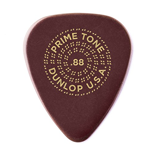 - Dunlop Primetone Standard .88mm Sculpted Plectra (Smooth) - 3 Pack