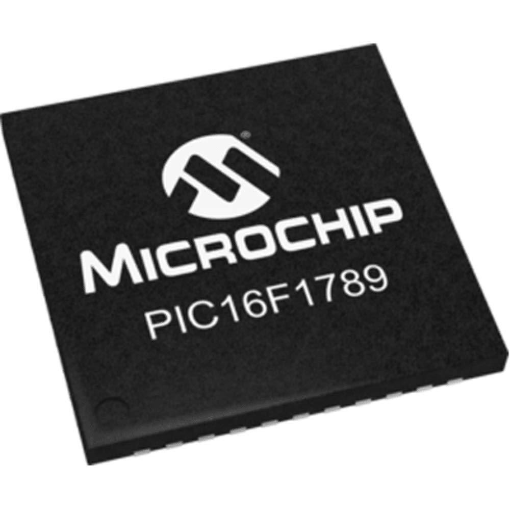 MCU 8-bit PIC16 PIC RISC 28KB Flash 3.3V/5V 44-Pin QFN EP Tube, Pack of 20