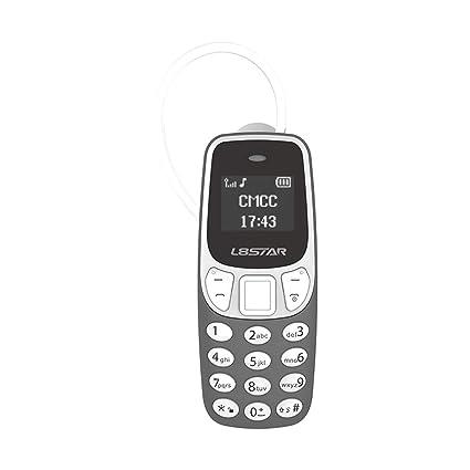 Amazon.com: L8star BM90 Worlds - Mini teléfono 2 en 1 con ...