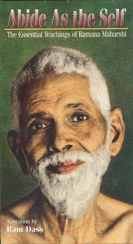 Abide as the Self: The Essential Teachings of Ramana Maharshi [VHS]