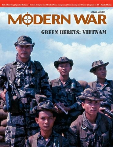 DG: Modern War Magazine #18, with Green Beret, Vietnam Solitaire Board Game