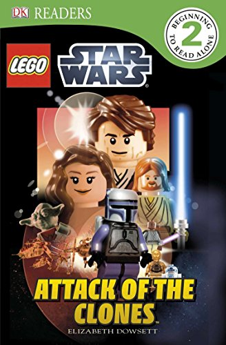 DK Readers L2: LEGO Star Wars: Attack of the Clones (DK Readers Level - 2 Star Wars Lego Book Level