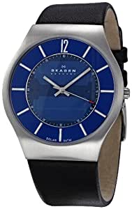 Skagen Men's 833XLSLN Denmark Blue Dial Watch