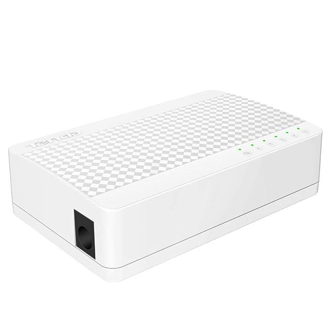 Amazon Com Tenda 5 Port Fast Ethernet Un Managed Desktop Switch
