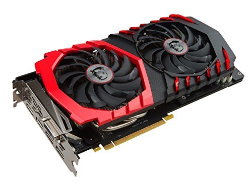 51gIXhUfExL - MSI GAMING GeForce GTX 1060 6GB GDDR5 DirectX 12 VR Ready (GeForce GTX 1060 GAMING X 6G)