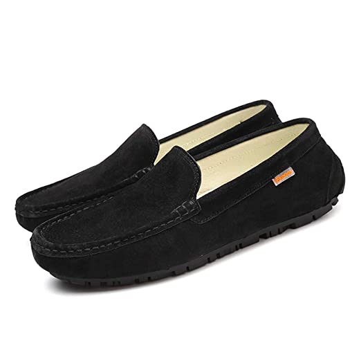 Amazon.com: MUMUWU Mens Drive Loafers For Casual Wear With Soft Leather Soles Boat Moccasins Dress Shoes: Clothing