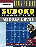 Sudoku Medium: Jumbo 300 SUDOKU medium puzzle books
