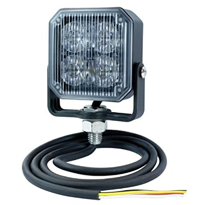 Grote 76792 Red Auxiliary LED Strobe Light: Automotive
