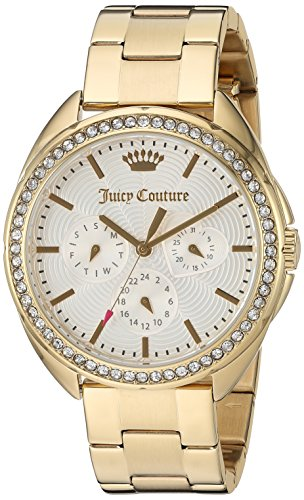 Juicy Couture Women's 'Capri' Quartz Tone and Gold-Plated Quartz Watch(Model: 1901479) ()