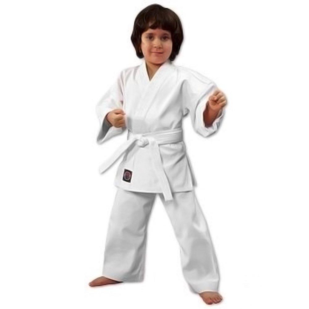 ProForce 6oz Student Karate Gi / Uniform - White - Size 0 by Pro Force
