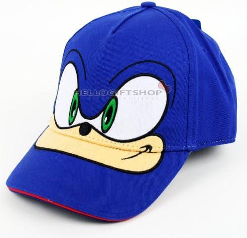 Amazon Com Sonic The Hedgehog Kids Boys Baseball Cap Hat Blue Joyave Flatware Sets Flatware Sets