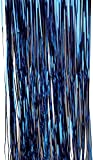 U.S. Toy Metallic Table Skirt/Blue