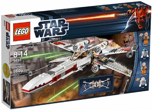 LEGO® Star Wars X-Wing Starfighter Spaceship with 4 Minifigures | 9493