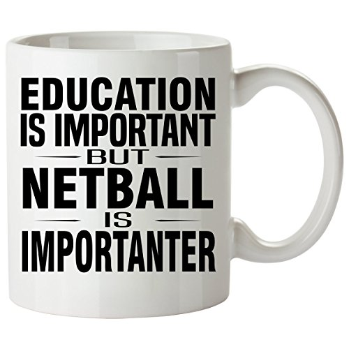 (NETBALL Mug 11 Oz - Good for Gifts - Unique Coffee Cup Accessories )