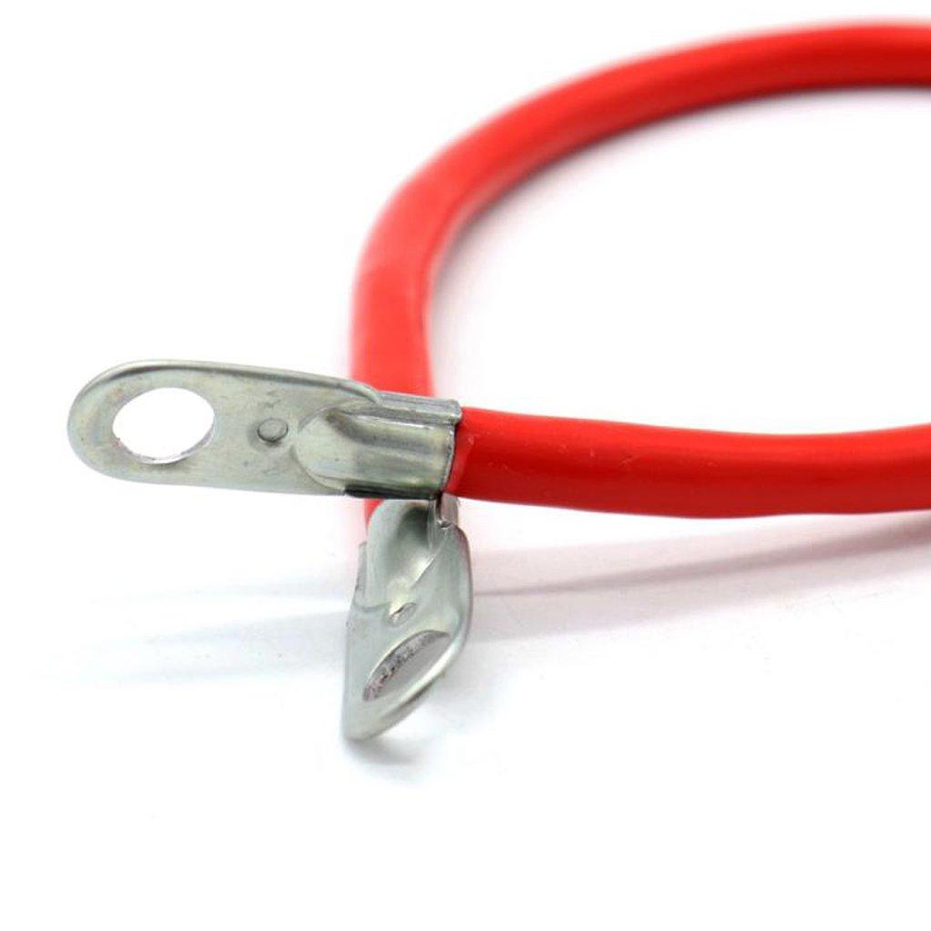Erdungskabel Inverterkabel non-brand MagiDeal Rot Batterie Plus-Pol Kabel 100 Ampere F/ür Batteriebankverdrahtung