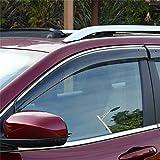 Vesul Updated Side Window Visor Rain Sun Deflectors Guard Vent Shade Smoke Gray Compatible with Jeep Cherokee 2014 2015 2016 2017 2018 2019 2020