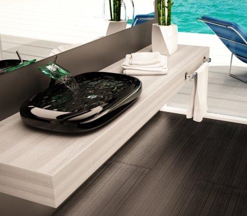 Mensole In Legno Per Bagno.Mobile Arredo Bagno Piano Mensola Per Lavabo D Appoggio Legno Disp