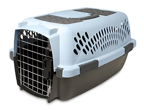 Aspen Pet Pet Porter Plastic Kennel, Up to 10 Pounds, Blue A