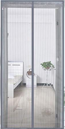 OLDLU Puerta de Pantalla magnética,Mosquito De Heavy Duty Autoadhesivo Malla de Puerta de Pantalla magnética Este Hotel de Mascotas y niño Puerta corredera Patio Puerta Doble-G 63x91inch(160x230cm): Amazon.es: Hogar