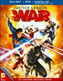 DC Universe Justice League: War Collector Steel Book (Blu-ray+DVD+UV)