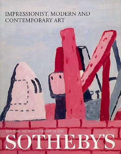 Impressionist, Modern and Contemporary Art. Sotheby's, New York, February 23, 2000