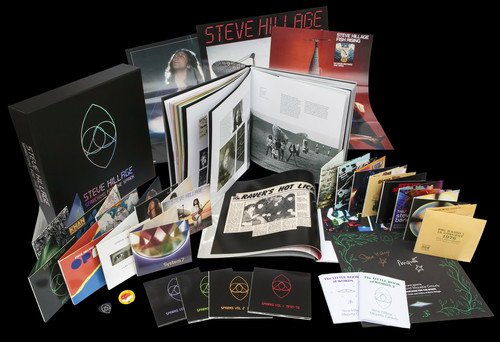 CD : Steve Hillage - Searching For The Spark (Oversize Item Split, Limited Edition, Boxed Set, United Kingdom - Import, 22 Disc)