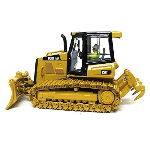 CAT Caterpillar D5K2 LGP Track Type Tractor Dozer with Ripper with Operator High Line Series 1/50 by Diecast Masters 85281 by Caterpillar