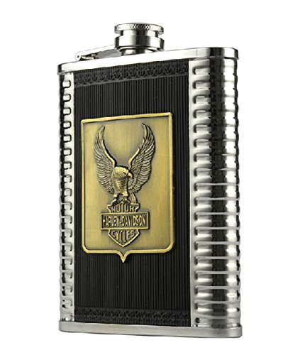 Panda Superstore Creative Eagle Hiking/Camping Thicken Stainless Steel Hip Flask, 8oz by Panda Superstore