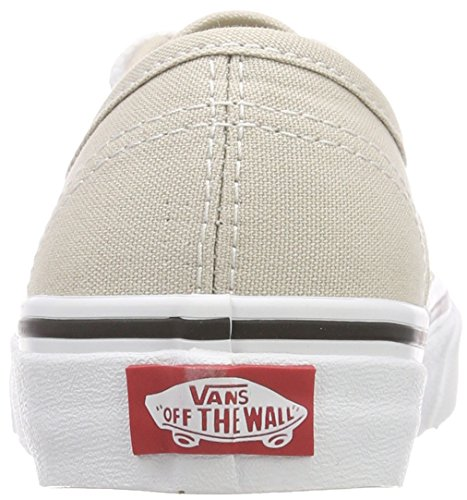 true White silver Lining Beige Baskets Authentic Qa3 Mixte Vans Adulte Xqw18W0