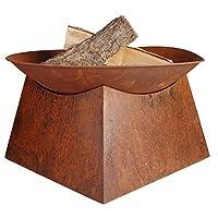 Esschert Design fire Bowl, la rouille brune, 56,5 x 56,5 x 33 cm, FF149.