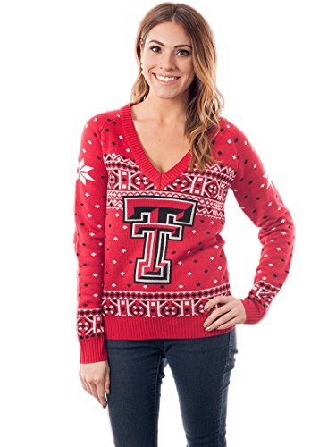 Tipsy Elves Women's Texas TeCh Sweater: Large by Tipsy Elves
