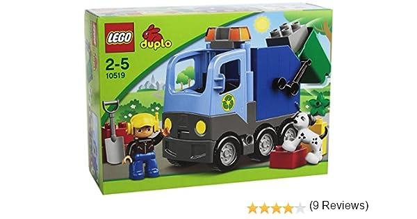 LEGO Duplo 10519 - En la Ciudad: Camión de Basura: Amazon.es ...